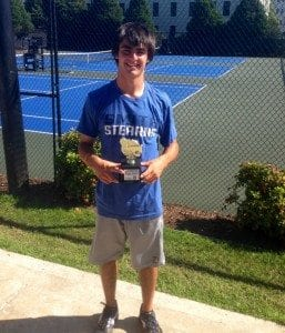 Kyle Barr win Sc state open